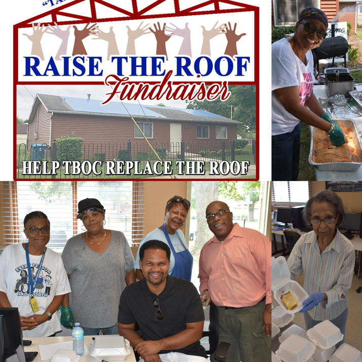 The QCAACC Provided Financial Support To Help TBOC 'Raise The Roof'...