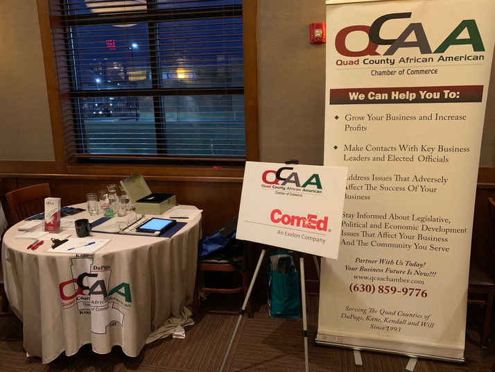 QCAACC Business After Hours In Naperville, IL Draws Large, Diverse Business Crowd