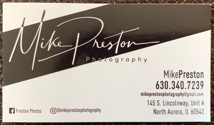 Mike Preston Photography Opens In North Aurora, IL