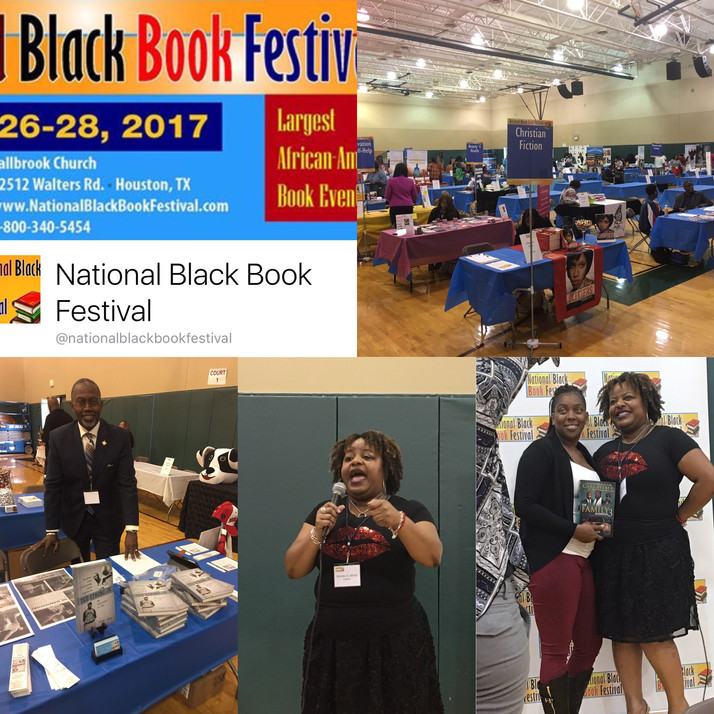 The Ted Strong Jr Story A Hit At 2017 National Black Book Festival In Houston, TX