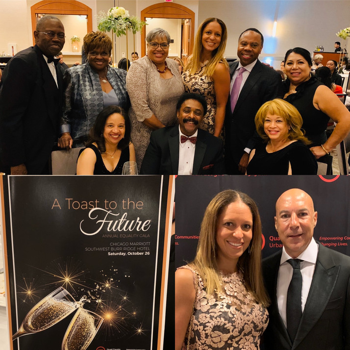 Quad County Urban League Annual Equality Gala In Burr Ridge, IL Was Outstanding!!!