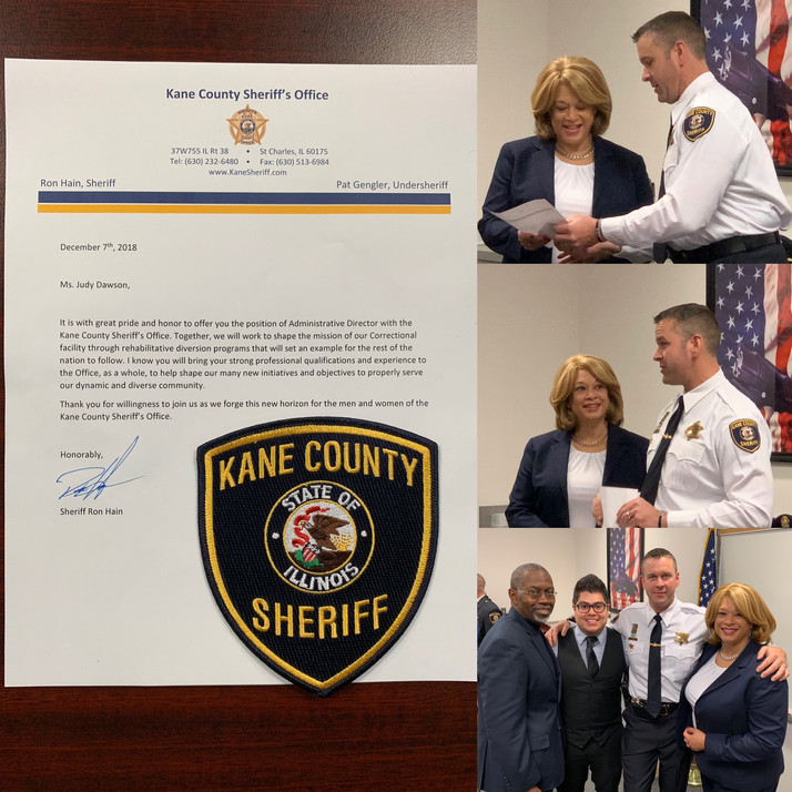 Invest Aurora's Judy Dawson Now With Kane County Sheriff's Office As Administrative Director