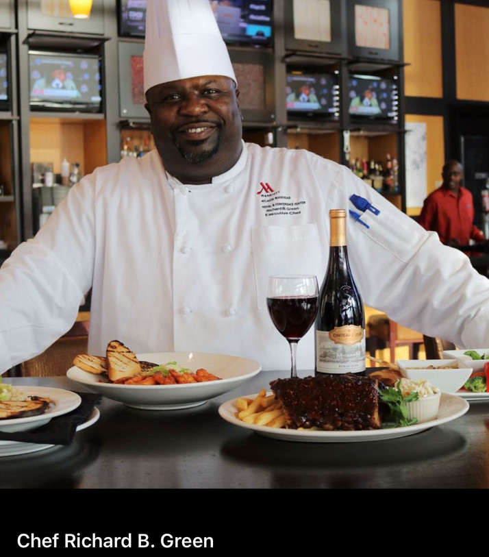 """Just Doin' What We Do""...Chef Richard Green Dead At Age 52; Life Services Held In Atl"
