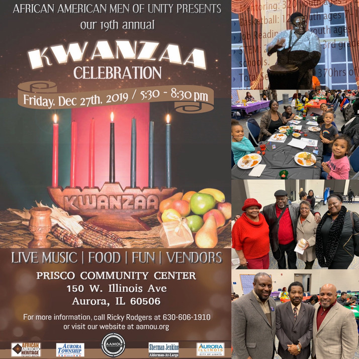 19th Annual Kwanzaa Celebration Enjoyed By Hundreds In Aurora, IL