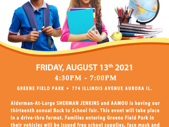 Back To School Event On Tap In August