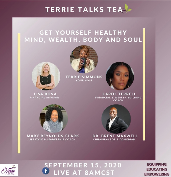A New Season of 'Terrie Talks' Starts September 15th