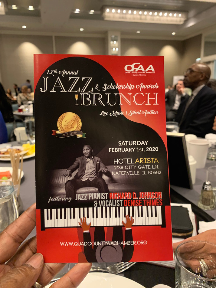 12th Annual Scholarship Jazz Brunch A Sold-Out Affair Honoring African American College Students, Fo