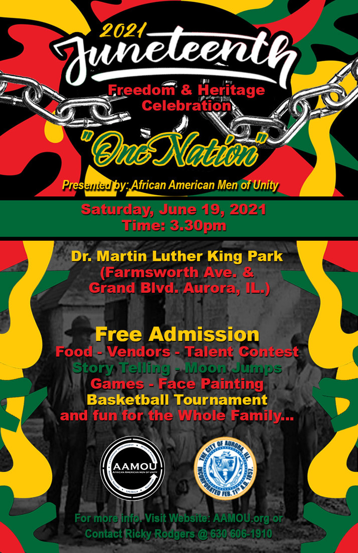Juneteenth In Aurora, IL Brings Many Events, Celebrations