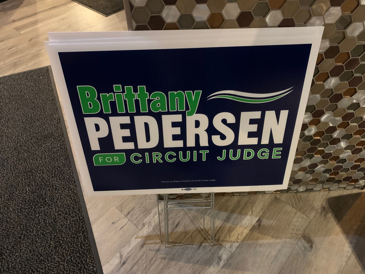 Kane County Circuit Court Judge Candidate Brittany Pedersen's Wins Democratic Spot  With Over 40