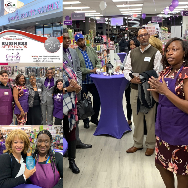 Business After Hours For Genesis Beauty Supply Showcases Outstanding Service Entity