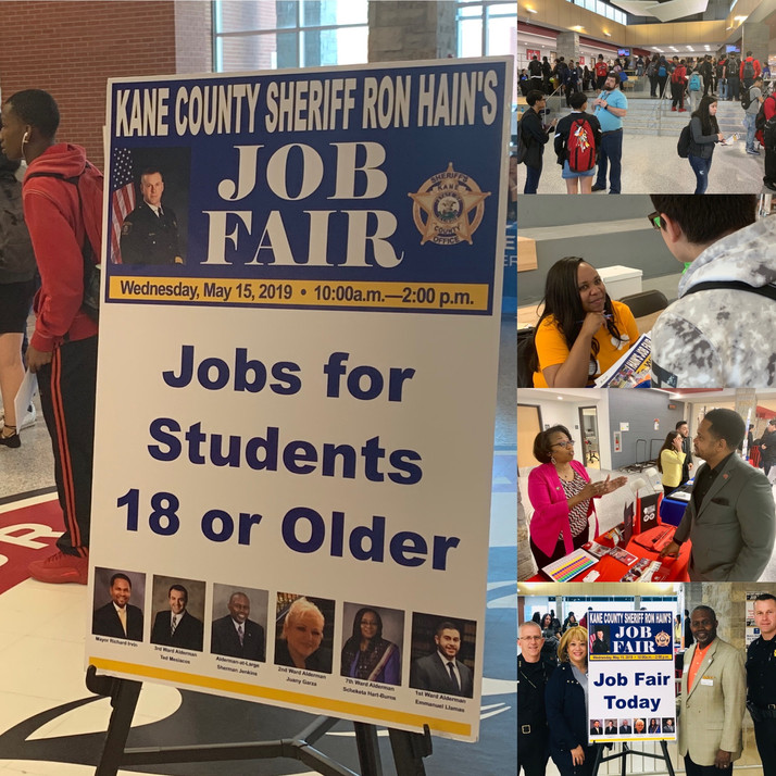 Chamber Member Kane County Sheriff's Office Hosted Successful Job Fair For Youth