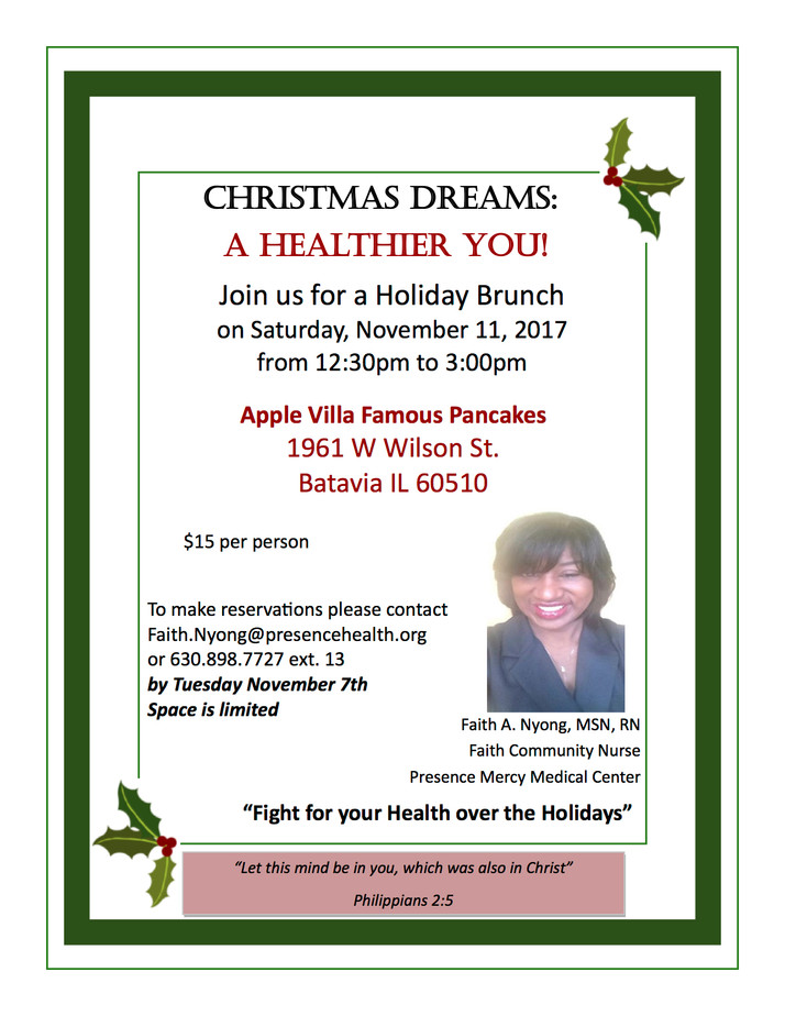 The Holidays Are Upon Us; Stay Healthy, This Event Will Tell You How To Do It