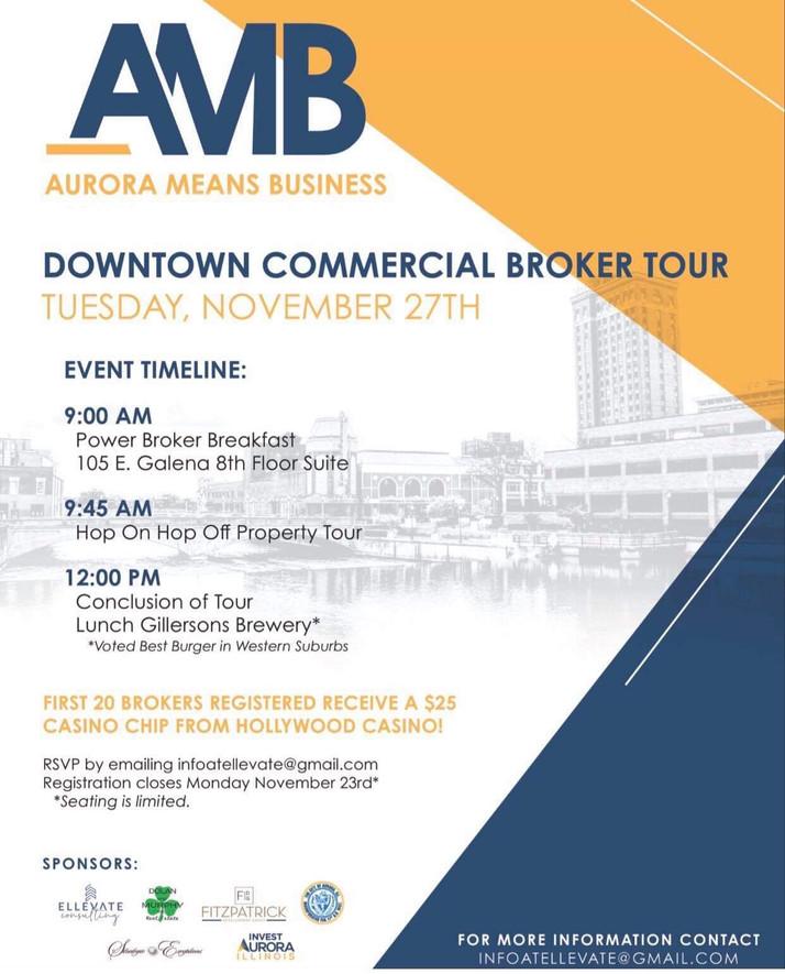 Broker's Tour Of Downtown Aurora Scheduled