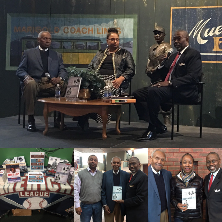 Negro Leagues Baseball Museum in Kansas City, MO Host Ted Strong Jr. Presentation