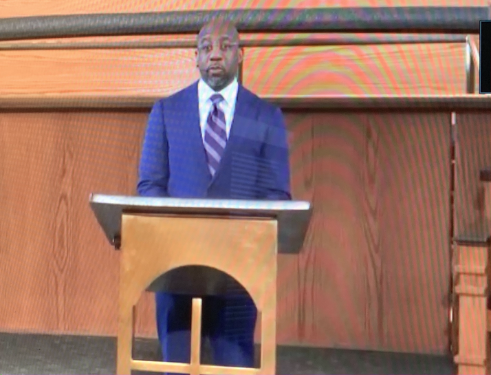 Agape Connection, Inc's Virtual King Celebration Attracts Many With Dr. Raphael Warnock