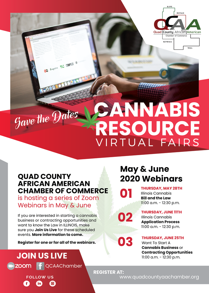 QCAACC Virtual Cannabis Resource Fairs Provided Great Information, Can Be Watched Now