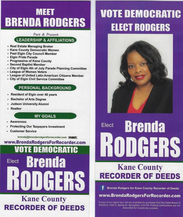 Elgin Leader Running For Kane County Recorder of Deeds