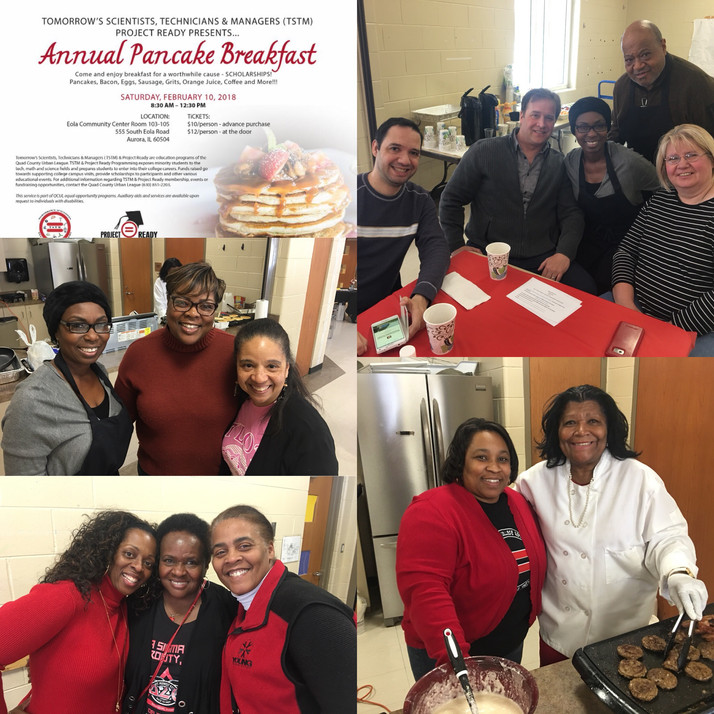 TSTM Annual Pancake Breakfast In Aurora, IL Raises Dollars for Scholarships