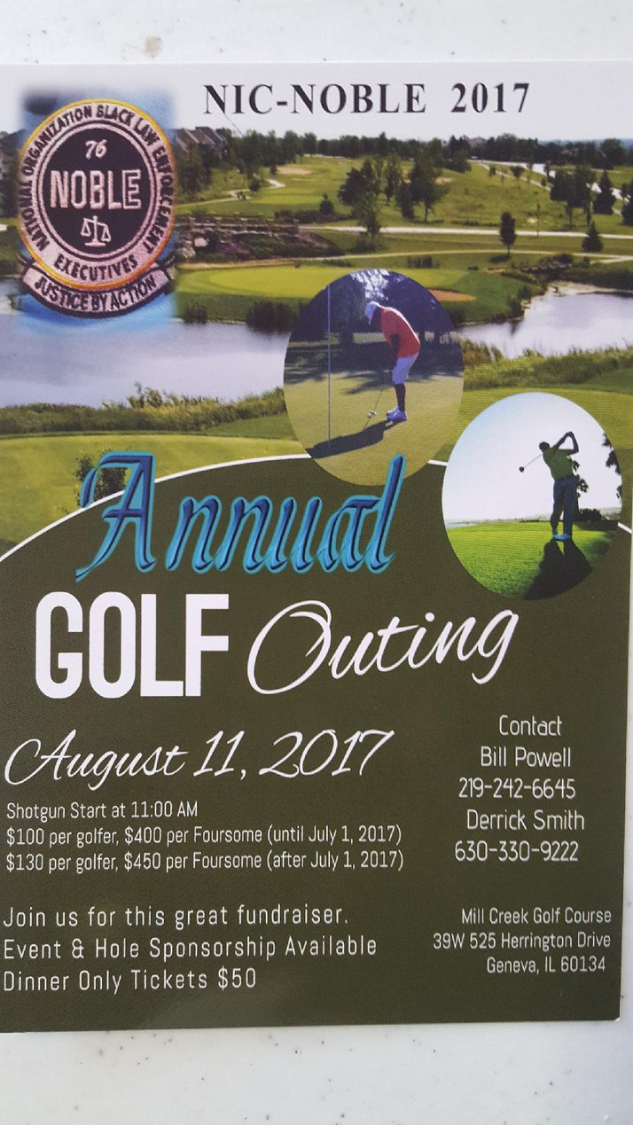 Mill Creek Golf Course To Be The Site of the Annual NOBLE Golf Outing August 11th