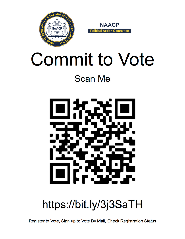 DuPage County NAACP 'Get Out The Vote' Campaign Has QR Code To Help You Register To Vote