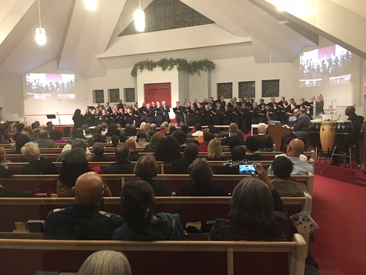 FANTASTIC Turnout For Gospel Choir Concert At DuPage AME Church in Lisle, IL Recently