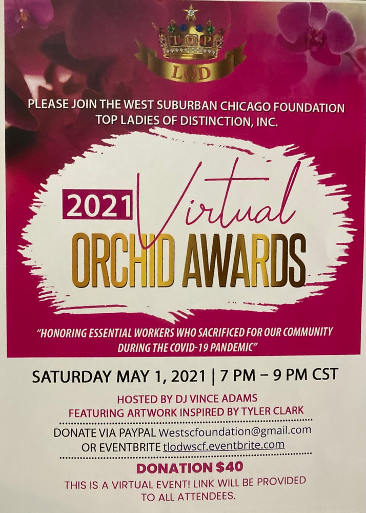 The Orchid Awards Are Back!!!...Virtually...Like A Lot of Things