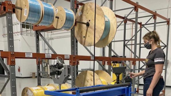 New Fiber Optics Micro-Factory Opens in Aurora, IL