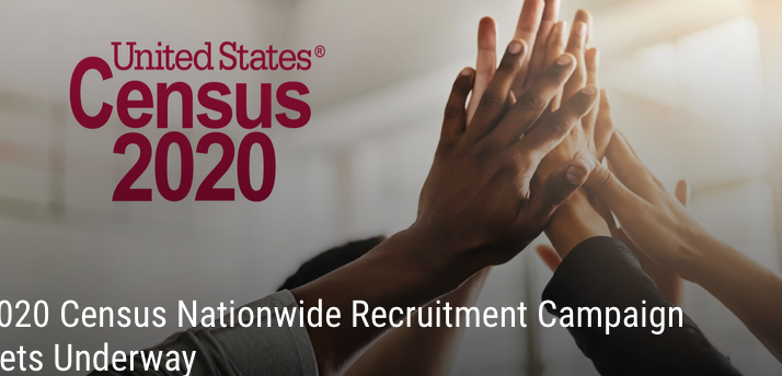 U. S. Census Bureau Seeking Individuals To Fill Paid Position For The 2020 Census
