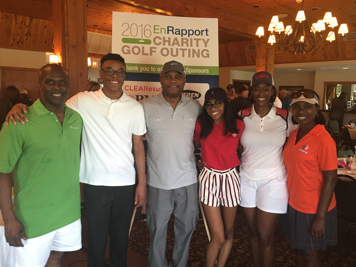 NICOR Gas/EnRapport Charity Golf Event Raises Funds For Quad County Urban League