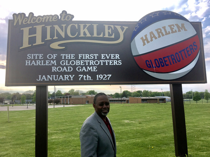 Hinckley, IL Learned of the True Story of An Original Harlem Globetrotter