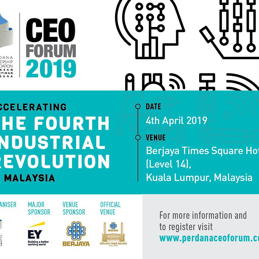 Perdana Leadership Foundation CEO Forum 2019