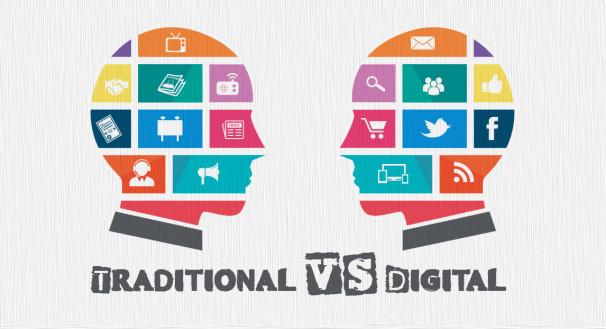 Traditional Marketing Vs DigitalMarketing
