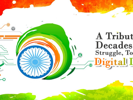 A Tribute To Decades Old Freedom Struggle, To Make Digital India!