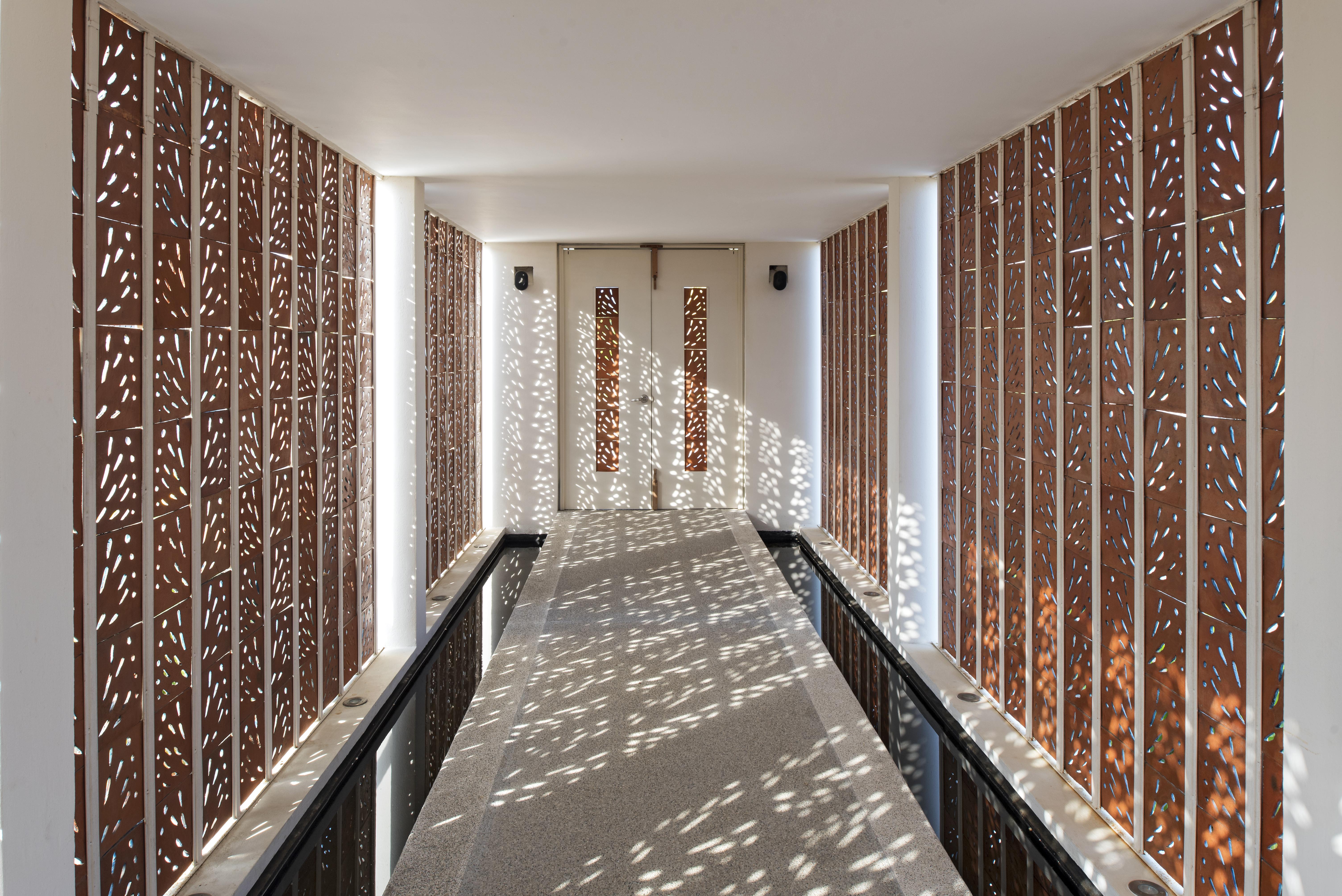 Stunning entrance Casa Quetzal