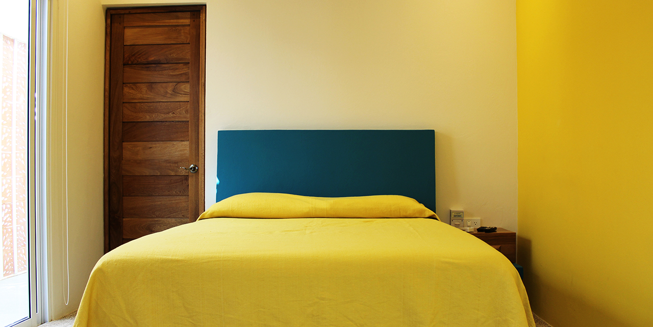 Bedroom in Casa Quetzal