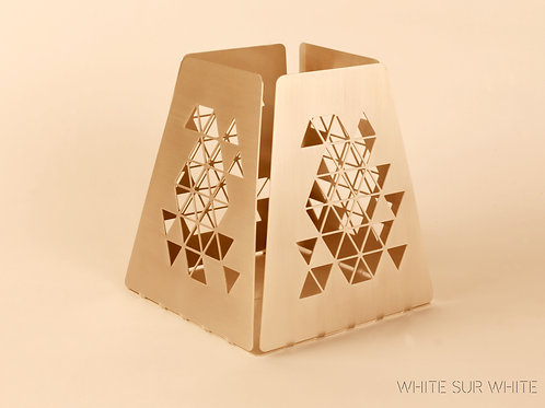 Hex Candle Holder