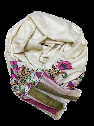 Kani Jamawar – Ivory Pink Lotus