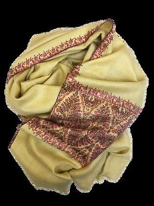 Kimono shawl – Red ivory