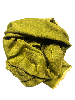 Double Weave – Neon Greenish Yellow