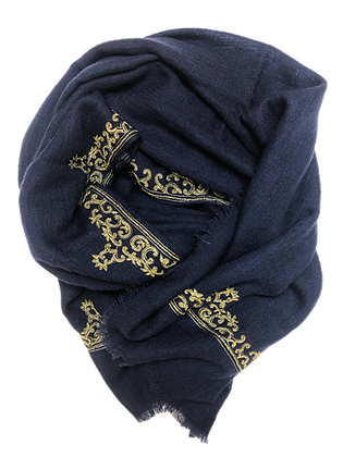 Golden Aari – Navy Blue