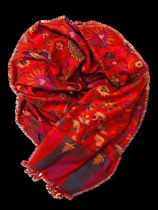 Kani Jamawar – Red Flowers