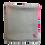 Thumbnail: Minimal Embroidery Tie & Dye – Baby Pink Grey