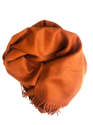 Suri Baby Alpaca – Orange Large