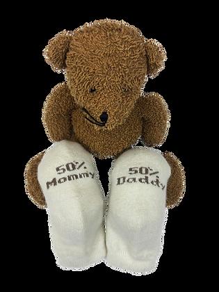 Cashmere Baby socks – Ivory
