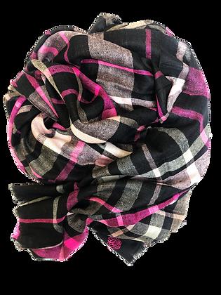Tartan – Black & Pink