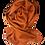 Thumbnail: Suri Baby Alpaca – Orange Small
