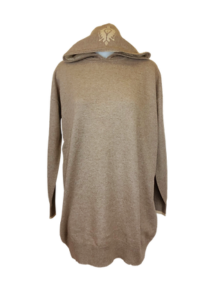 Cashmere Lounge Hoodies & Dress – Natural Beige