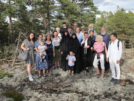 Fotorapport från pilgrimsfärd i Helige Botvids fotspår