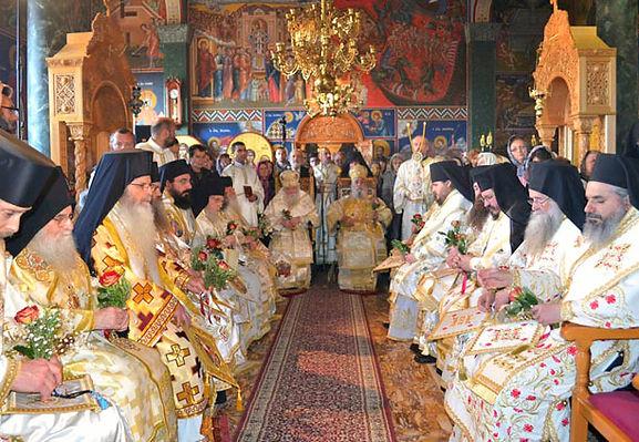 Unionsliturgin mellan den Heliga Motståndssynoden och de Sanna Ortodoxt kristna i Grekland