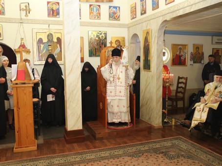 Händelser inom kort: Extra Liturgi, Synaxis om fastan och besök av Metropolit Kyprianos